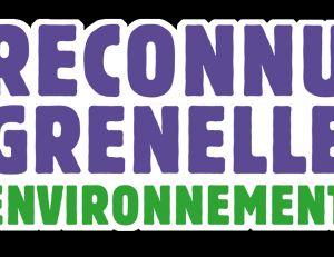 "Mention ""Reconu Grenelle environnement"""