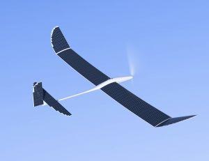 Exemple d'avion solaire