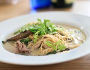 Soupe thai aux nouilles et au boeuf