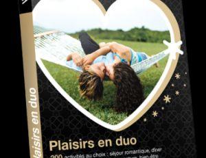 Coffret cadeau Plaisirs en duo © Wonderbox