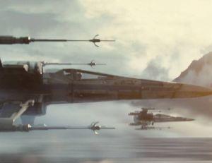 Capture d'écran du premier trailer de Star Wars : le Réveil de la Force