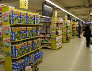 Des actions boursières disponibles en supermarché