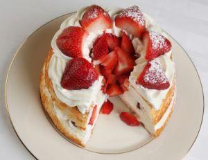 Recette du strawberry shortcake