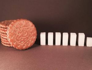 Un compte Instagram montre combien de sucres se cachent dans nos aliments - Copyright @dealerdesucre Instagram
