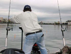 Un tambour tournant convient bien pour la pêche au vif