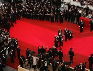 Tapis rouge de Cannes
