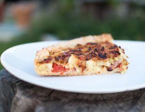 Recette de la tarte aux ravioles de Romans