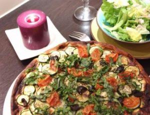 Recette de la tarte salée rapide aux légumes du soleil