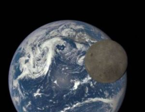 Aperçu de la photo réalisée par le satellite DSCOVR de la Nasa - copyright NASA