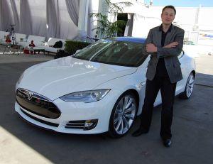 Elon Musk, PDG de Tesla Motors - Copyright Maurizio Pesce / Wikimedia Commons