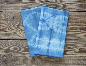 Serviettes de table tie and dye