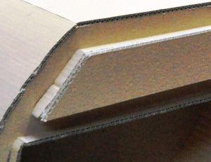 Encollez les bords du tiroir avant d'appliquer la façade
