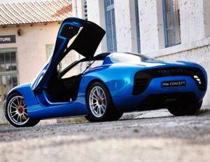 Aperçu du véhicule électrique conçu par Toroidion - copyright Toroidion