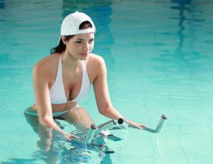 Aquabiking ou aquabike