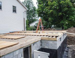 Déclarer des travaux d'extension