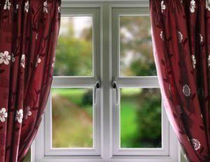 Fenêtre à triple vitrage