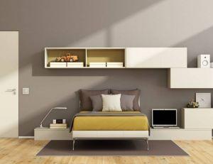 Un placard multifonctionnel pour aménager une chambre à coucher / iStock.com -archideaphoto