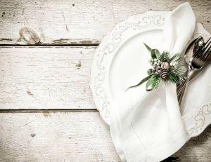 Une astuce pour présenter ses serviettes de table en période de Fêtes