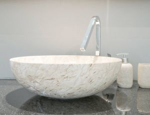 Installer une vasque