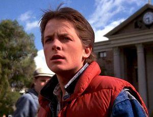 Toute la panoplie de Marty McFly semble en passe d'être commercialisée...