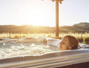Vous pouvez vous aménager un véritable spa, à domicile...