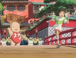 Le Voyage de Chihiro © Studio Ghibli