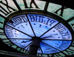 Vue d'une horloge