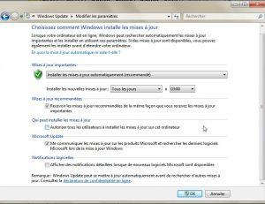 Windows Update - paramétrage