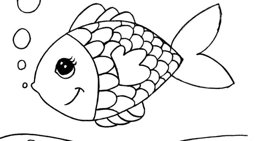 Mod les de coloriage pour enfants t l charger - Dessin enfant poisson ...
