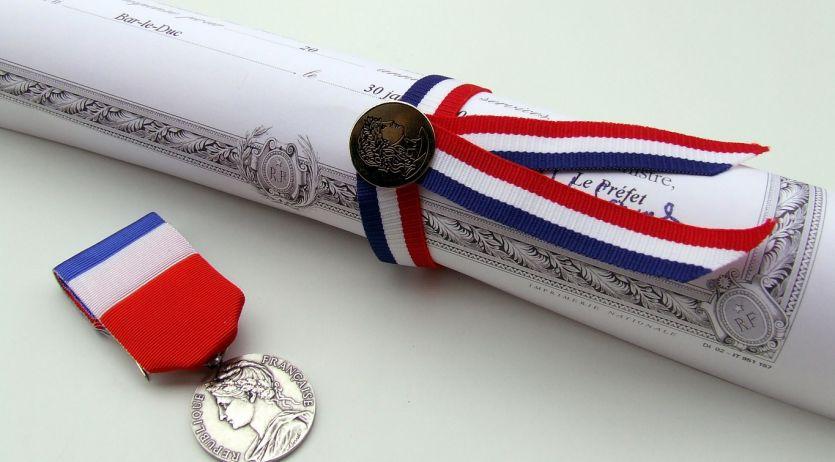 La médaille d'honneur du travail