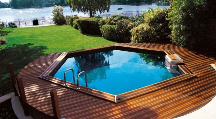 Piscines hors sol les diff rents types for Cout piscine hors sol