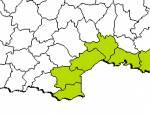 Répartition des hémidactyles verruqueux en France