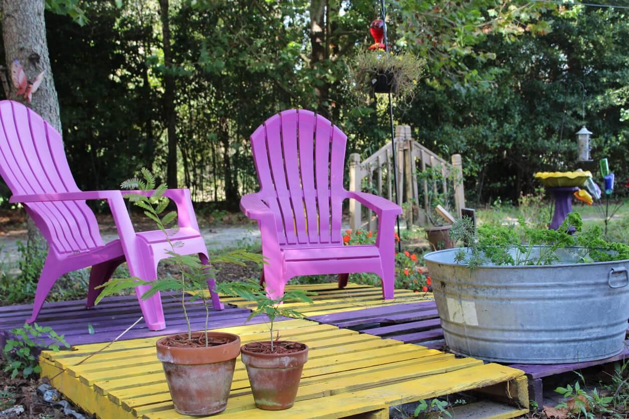 DIY : 4 idées de salons de jardin à faire soi-même | Pratique.fr