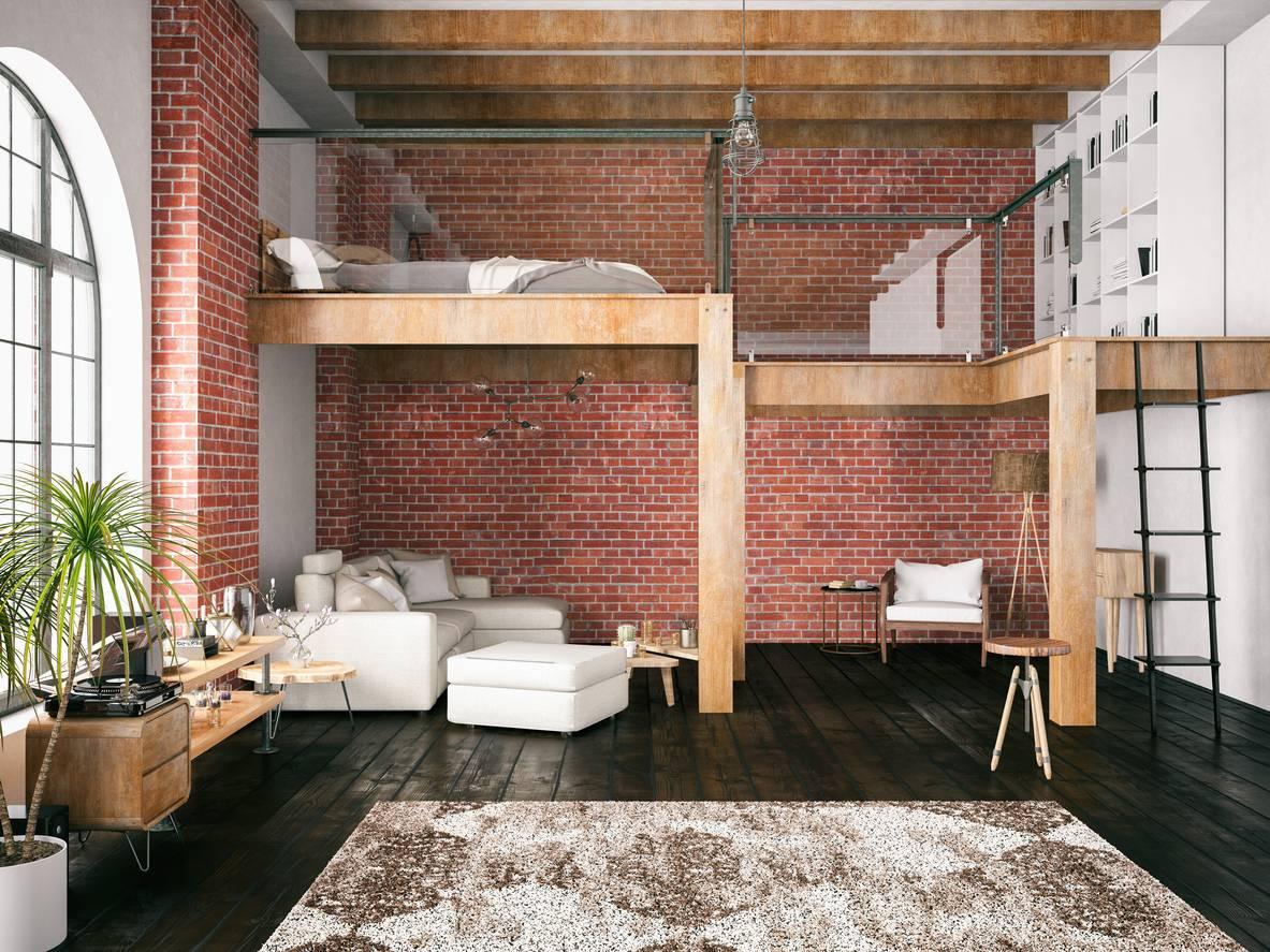 8 idées déco pour aménager un espace sous une mezzanine ...