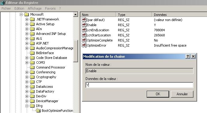 Acc l rez le d marrage de windows xp for Fenetre windows xp