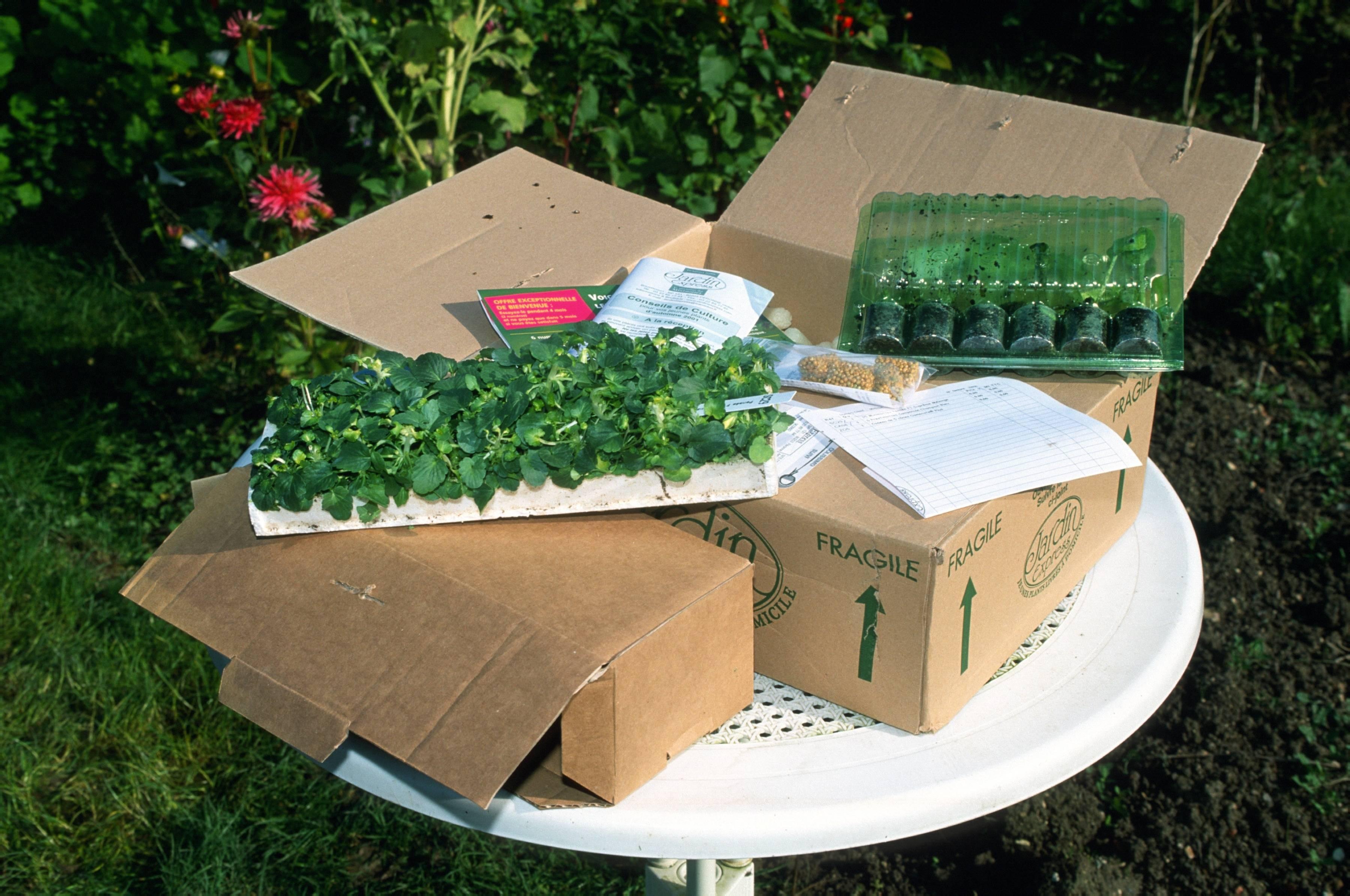 acheter des articles pour le jardin par correspondance