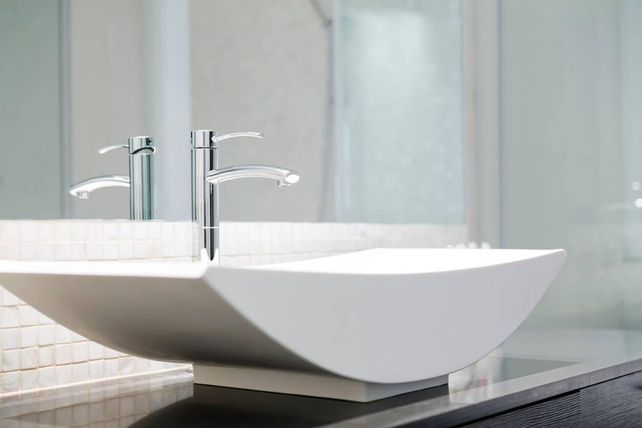Espace Entre 2 Vasques adapter ses robinets en fonction de la taille de sa vasque