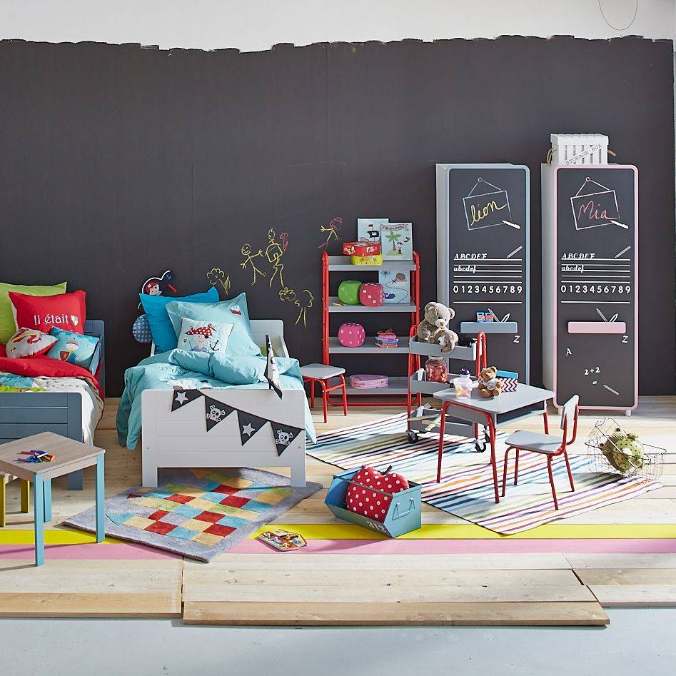 nos id es pour am nager une chambre d 39 enfant. Black Bedroom Furniture Sets. Home Design Ideas