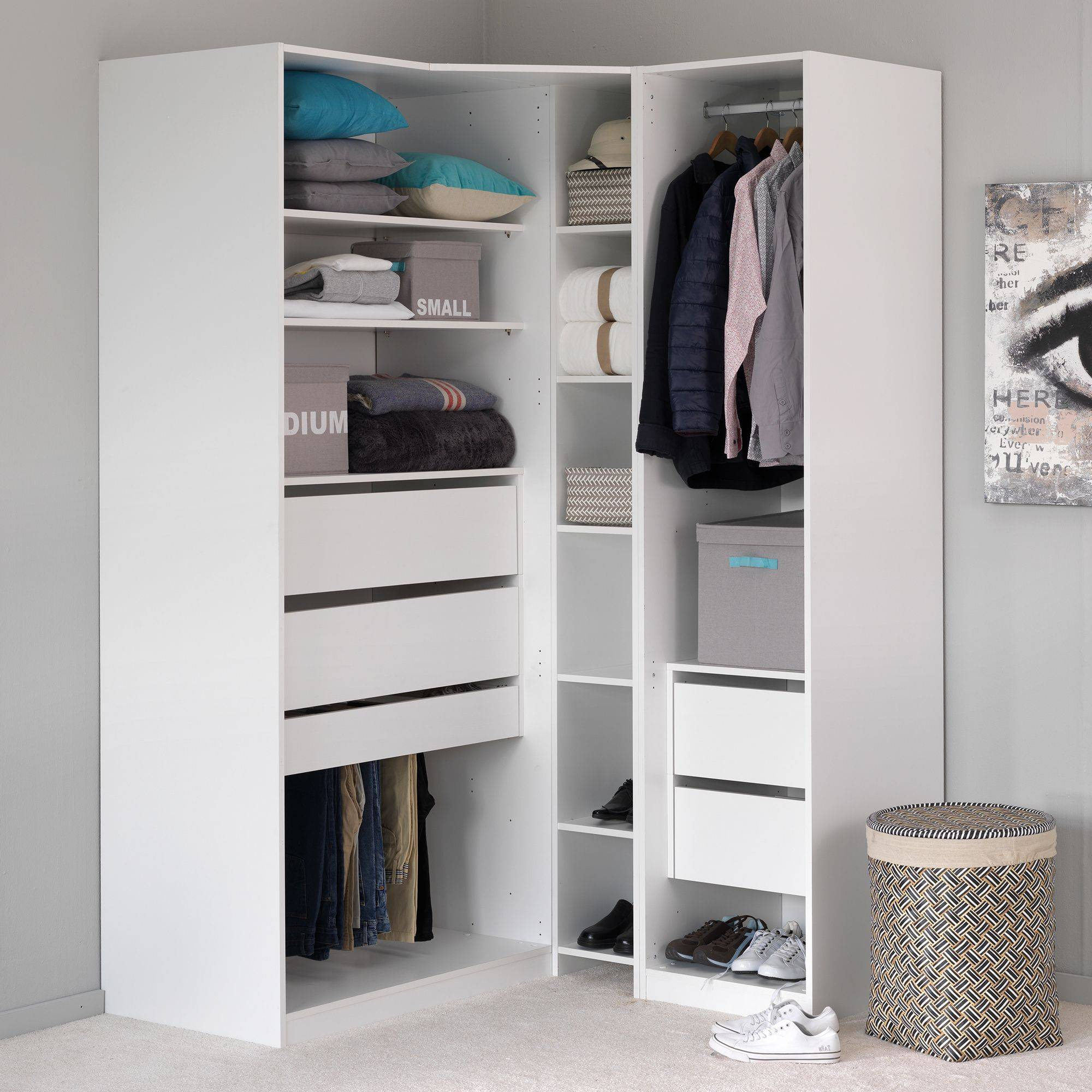 comment amenager un placard en dressing maison design