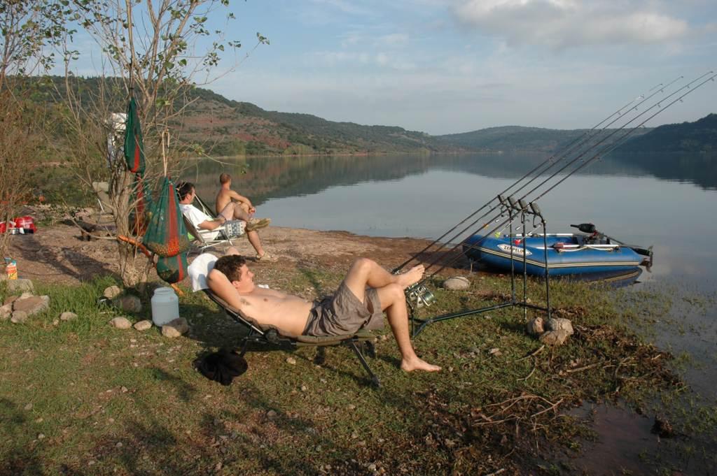 La pêche russe la base de pêche