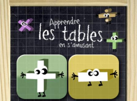 Ipad 15 applications pour les enfants for Apprendre ses tables
