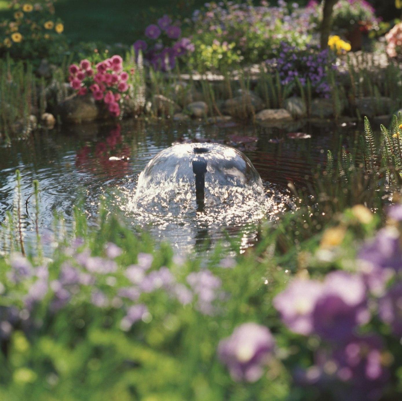 Autour du bassin - Jet d eau solaire pour petit bassin ...