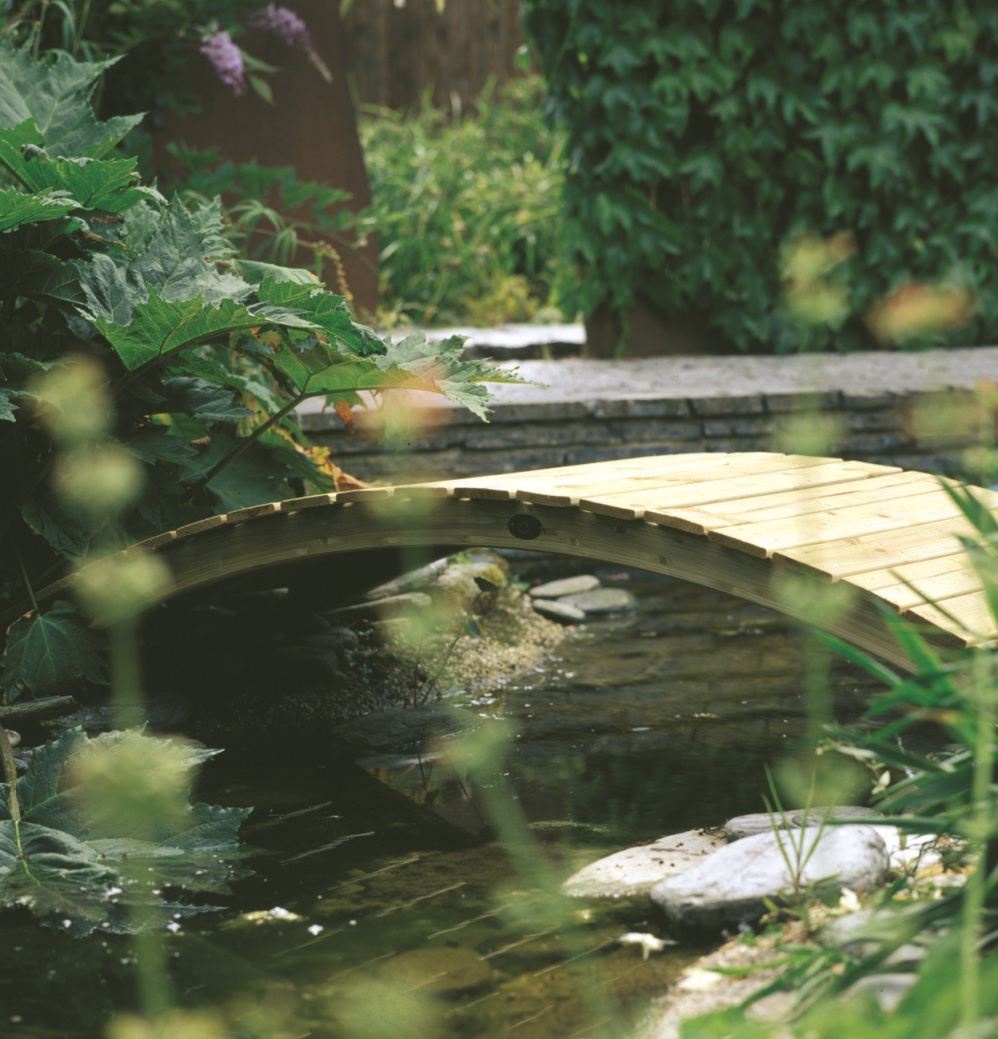 Autour du bassin - Pont pour bassin ...