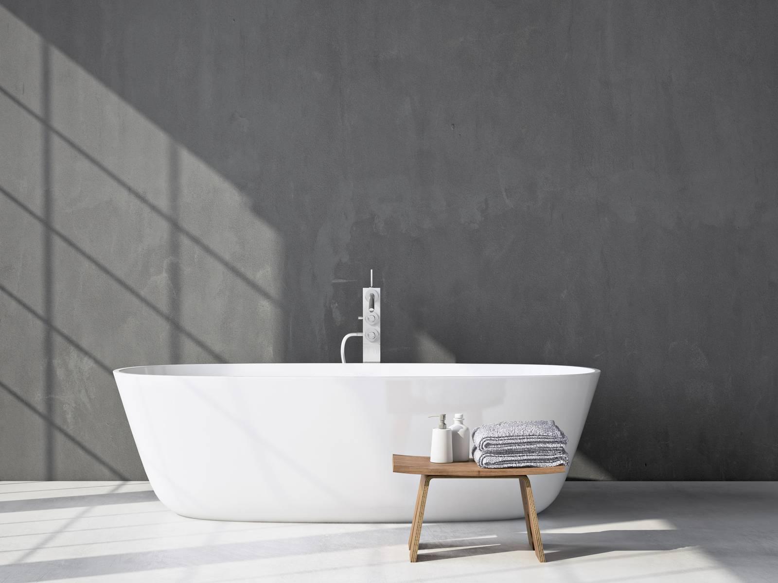 installer une baignoire îlot dans sa salle de bain | pratique.fr
