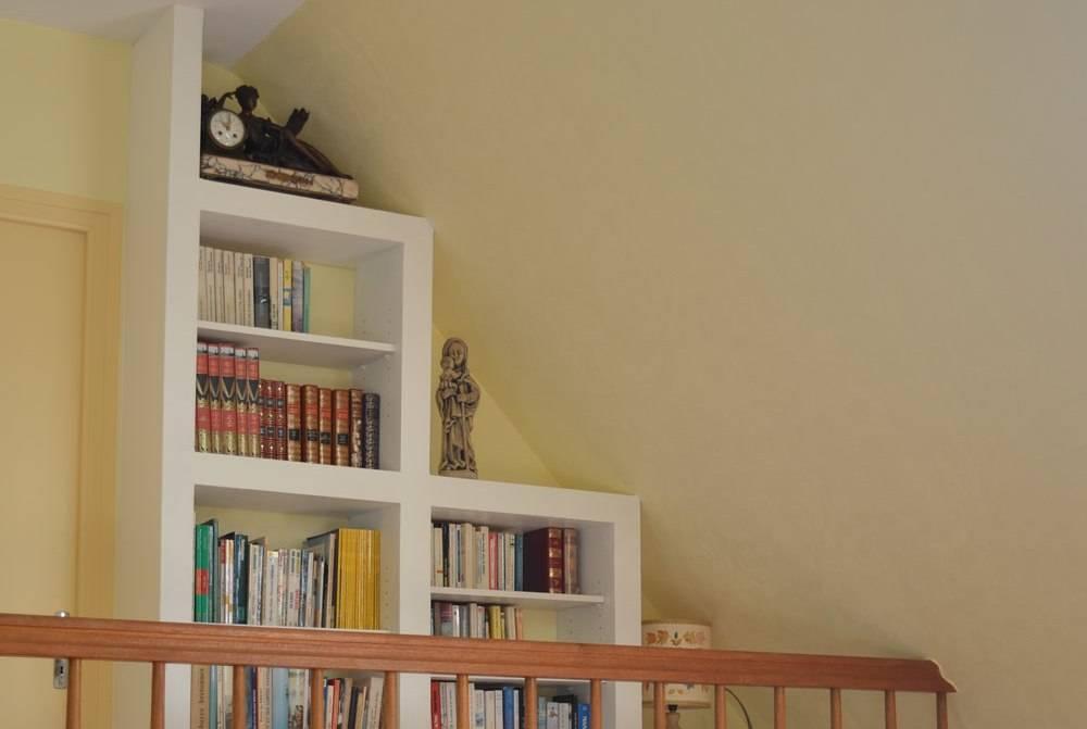 Fabriquer facilement un meuble de rangement avec des plaques de pl tre prat - Construire une bibliotheque ...