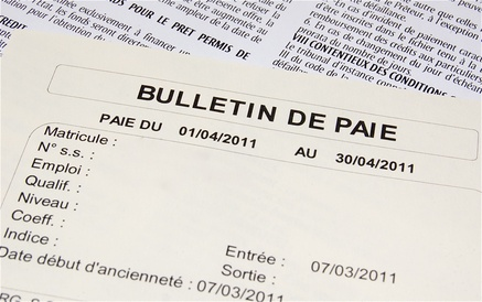 Comment tablir un bulletin de paie for Salaire poseur de cuisine