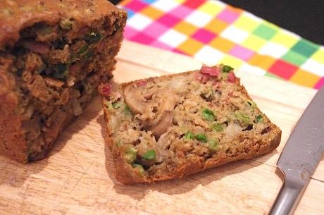 Recette Cake Lardon Petit Pois