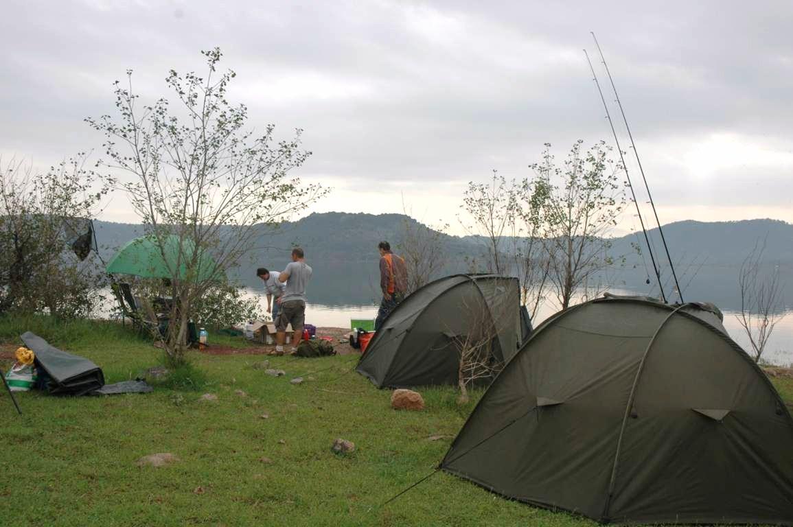 La pêche dans la ville de district du domaine de Volgograd