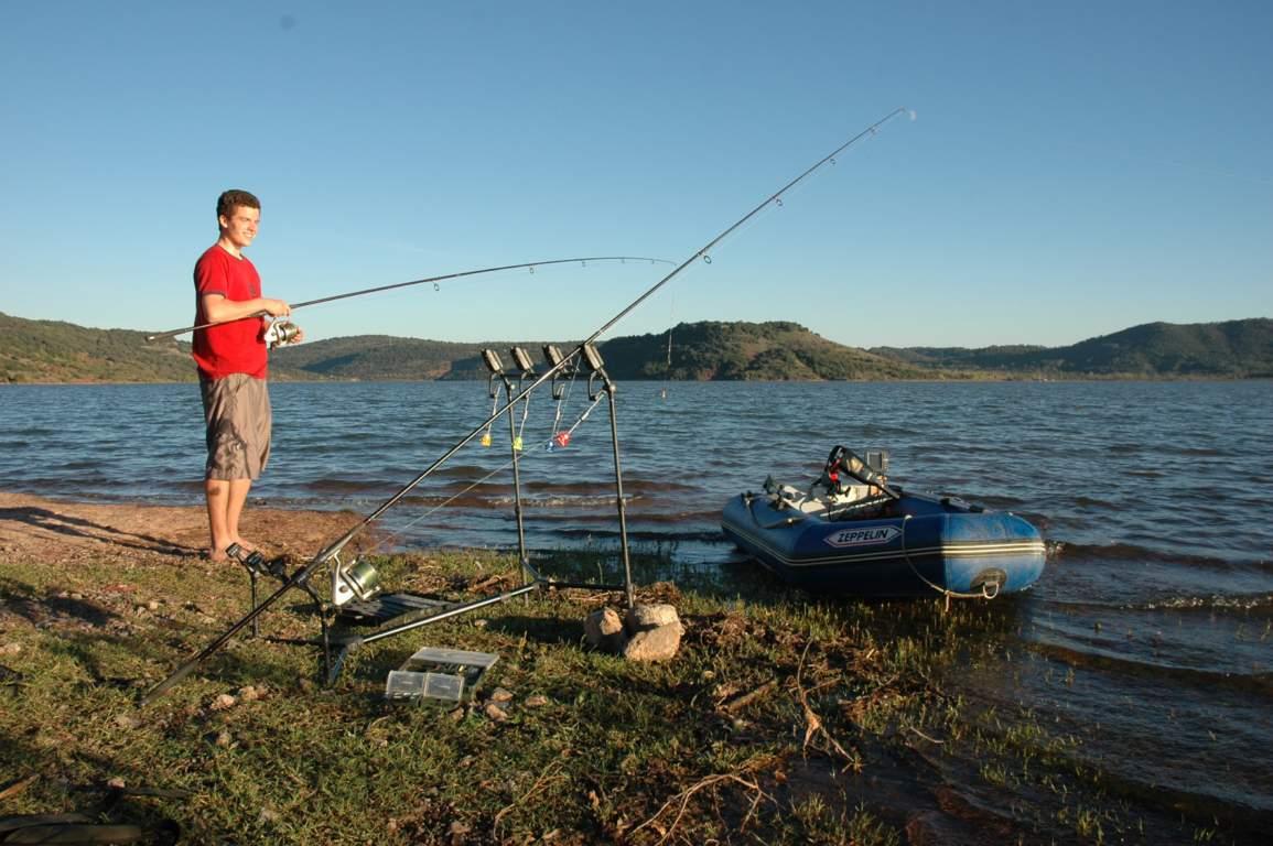 Le monde slave les marchandises pour la pêche