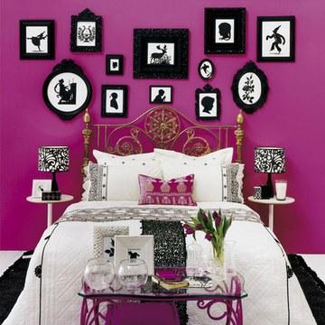 D coration baroque r alisez une chambre style baroque for Chambre rose fushia et blanc